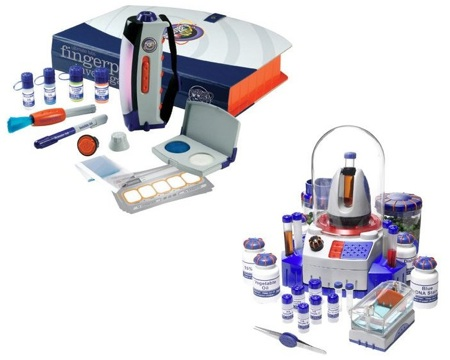 Kit per le impronte digitali e test DNA